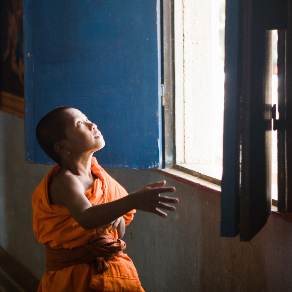 Young Angkor Monk