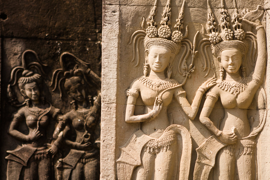 Sculptures Of Angkor