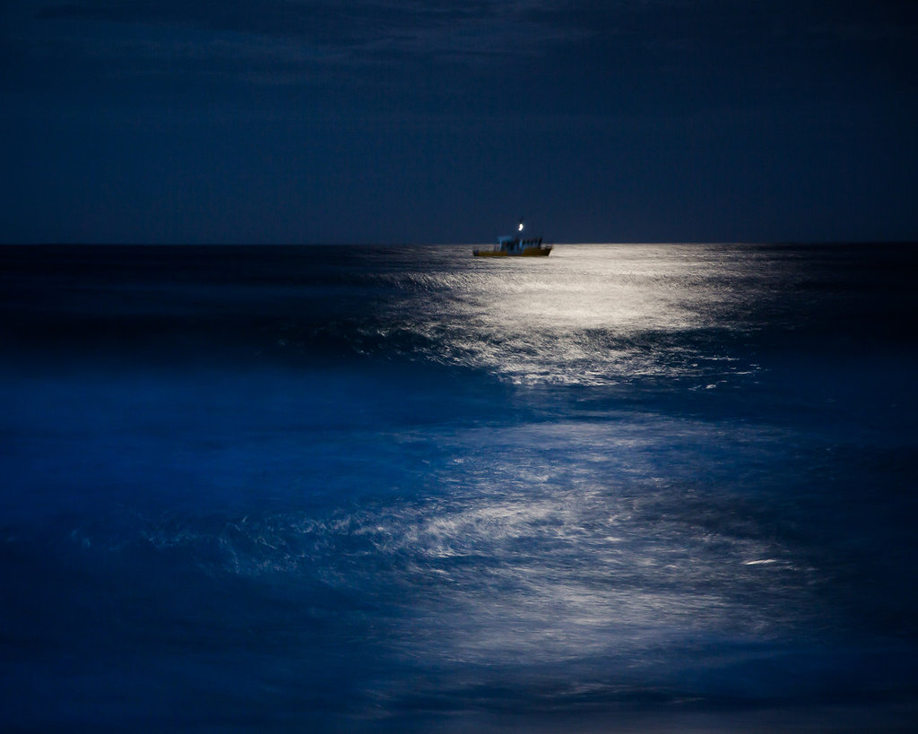 Boat at Night