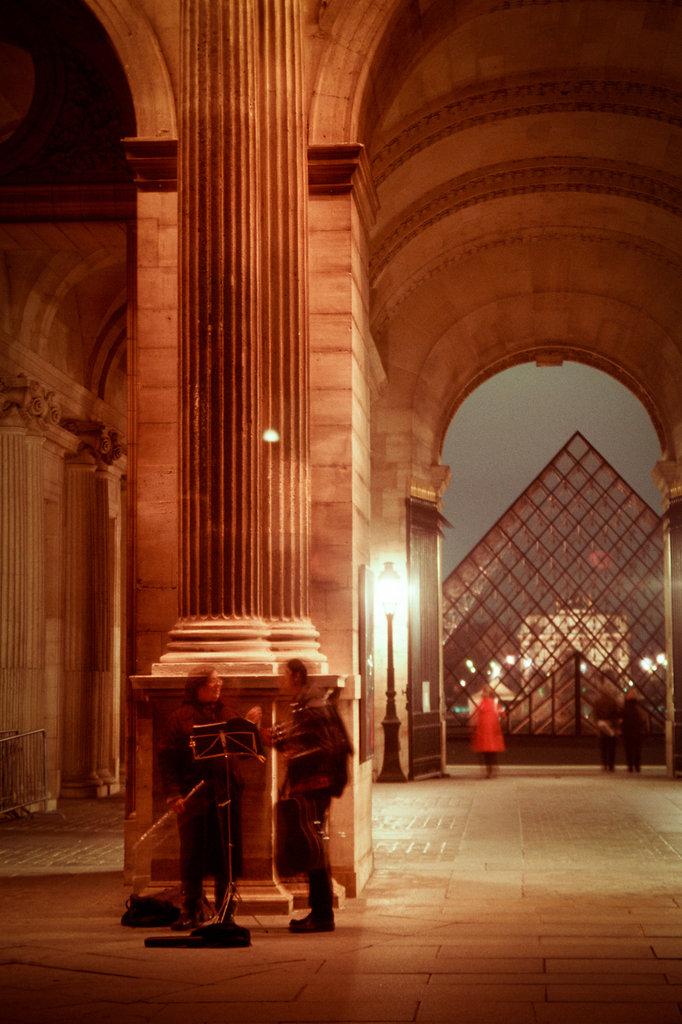 Louvre Court Musicians